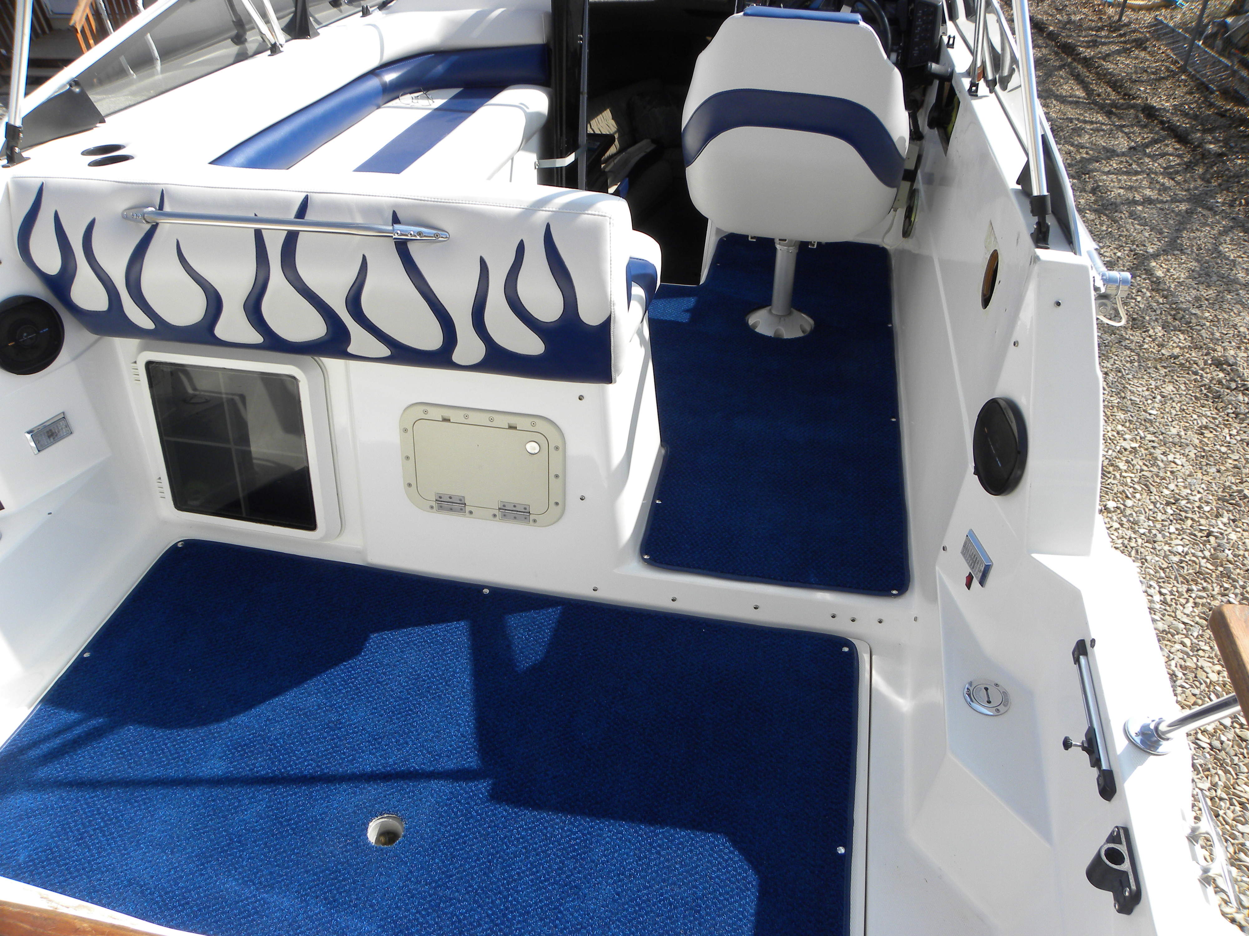 Boat seats sun decks travel + storage